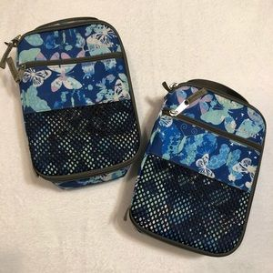 L.L. Bean - Butterly Lunchbox Set